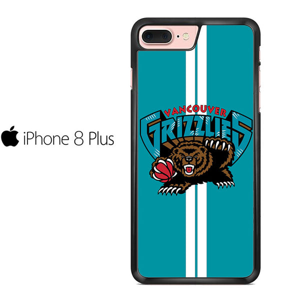 Vancouver Grizzlies Stripe For Iphone 8 Plus
