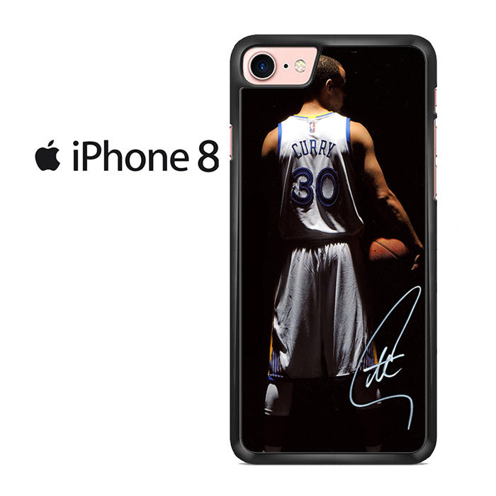 best service 9dc4a 380f0 Stephen Curry Golden State Warriors Signature For Iphone 8