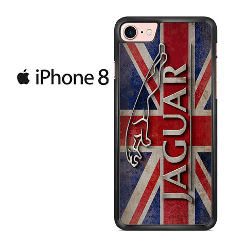 Jaguar England Flag For Iphone 8