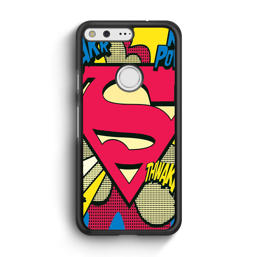 Pop Art Superman Logo For Google Pixel Xl Case