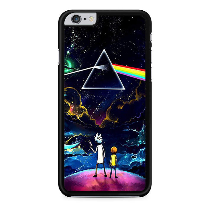 the best attitude 6499b 32361 Rick And Morty Pink Floyd For Iphone 6 Plus Iphone 6S Plus Case