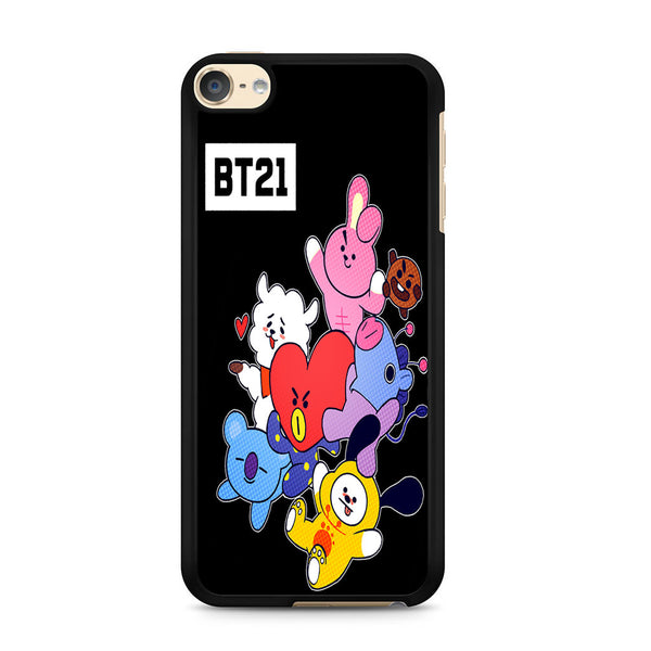 uk availability 527b6 e3b1f BTS Created BT21 For Ipod Touch 6 Case