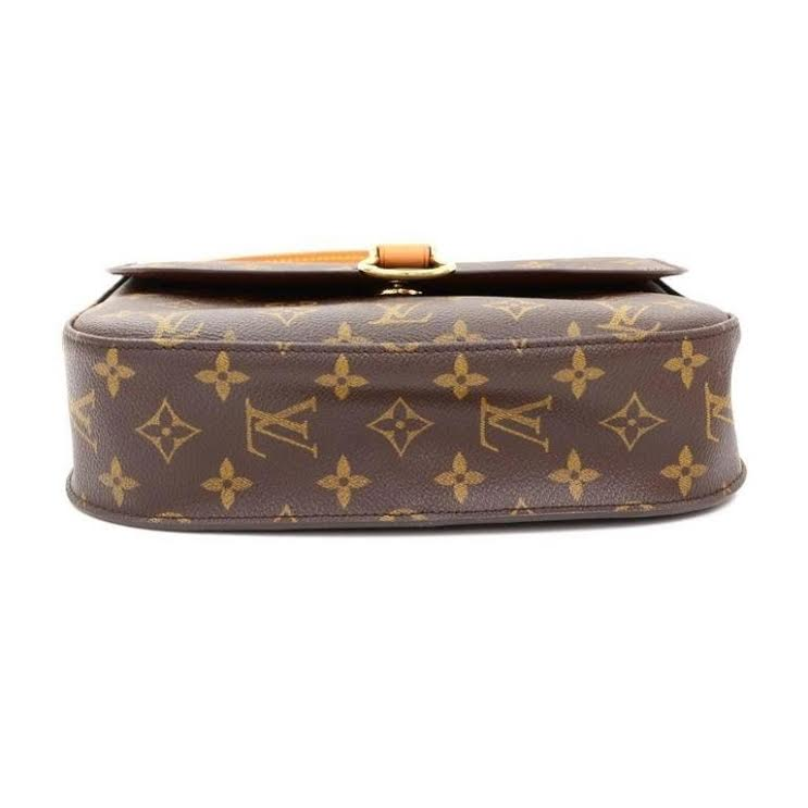 Louis Vuitton Monogram Canvas Mini Saint Cloud Crossbody Bag