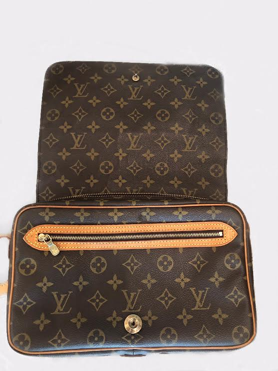 Louis Vuitton Monogram Canvas Saint Germain 28 Crossboy Bag