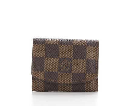 Louis Vuitton Damier Ebene CuffLinks Case