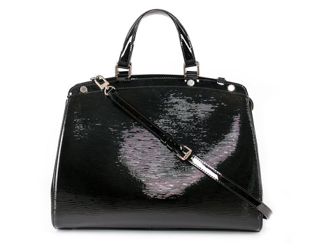 Louis Vuitton Black Electric Epi Brea MM Bag