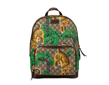 Gucci GG Supreme Monogram Bengal Print Backpack