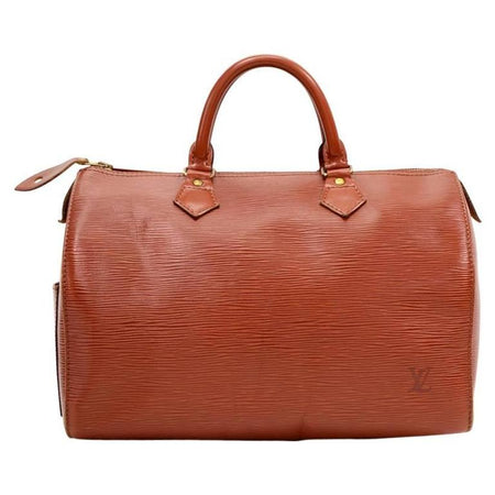 Louis Vuitton Kenyan Fawn Epi Leather Speedy 30 Bag