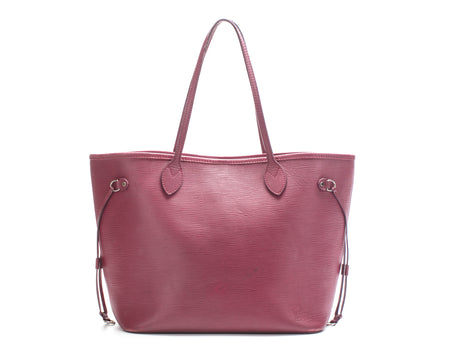 Louis Vuitton Fuchsia Epi Leather Neverfull MM Bag