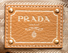 Prada Tan Vitello Daino Shoulder Bag