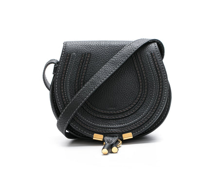 Chloe Black Small Marcie Crossbody Bag