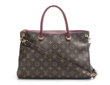 Louis Vuitton Monogram Bordeaux Pallas Bag