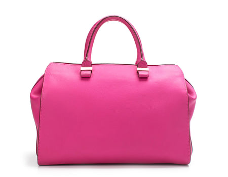 Victoria Beckham Hot Pink 'The Soft Victoria' Satchel Bag
