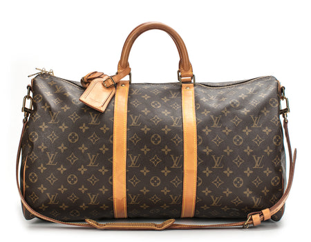 Louis Vuitton Monogram Canvas Keepall 50 Bandouliere Bag
