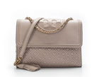 Tory Burch Light Oak Medium Fleming Flap Bag