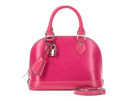 Louis Vuitton Hot Pink Epi Alma BB Bag