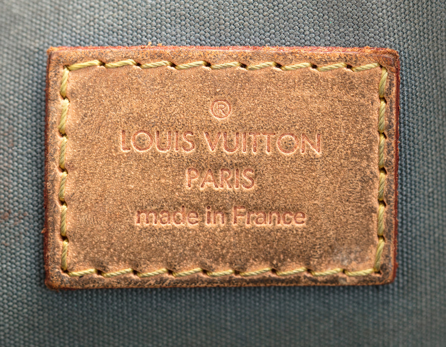 Louis Vuitton Gris Vernis Alma GM Bag