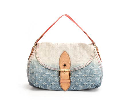Louis Vuitton Denim Sunray Shoulder Bag