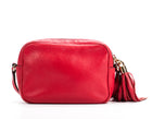 Gucci Red Leather Soho Disco Crossbody Bag