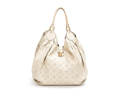 Louis Vuitton Lin Mahina XL Hobo Bag