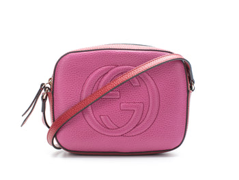 Gucci Limited Edition Rosette/Hibiscus Soho Disco Bag