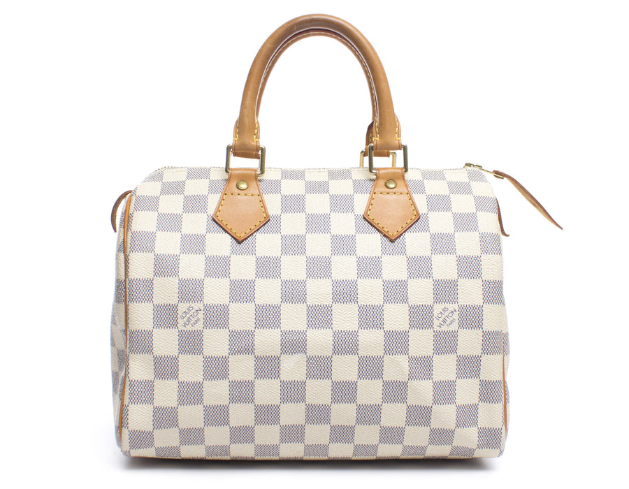 Louis Vuitton Damier Azur Speedy 25 Bag