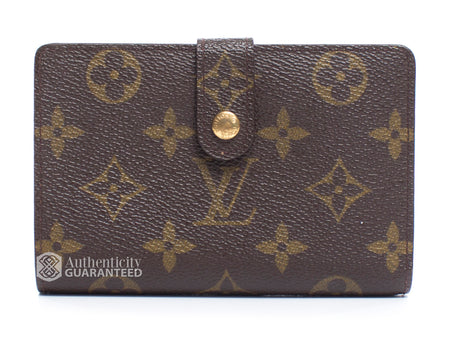 Louis Vuitton Monogram Canvas French Wallet