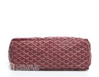Goyard Red Monogram Coated Linen Saint Louis PM Bag with Stripe