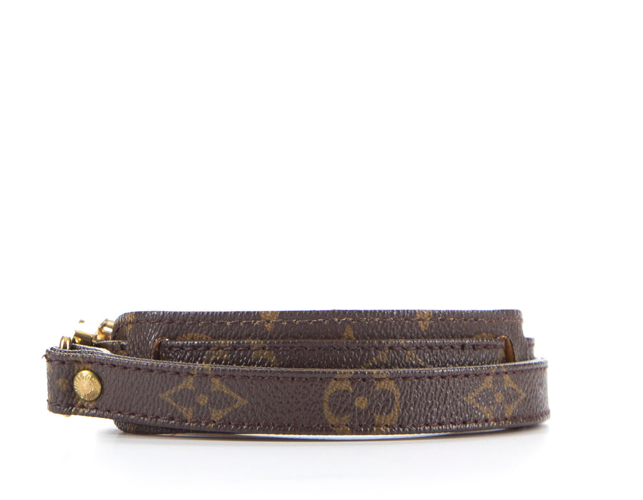 "Louis Vuitton Monogram Canvas 38"" Strap"