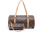 Louis Vuitton Monogram Canvas Papillon 30 Bag w/ Pochette