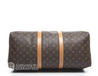 Louis Vuitton Monogran Canvas Keepall 50 Bag
