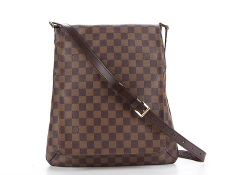 Louis Vuitton Damier Ebene Musette GM Bag