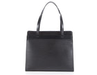 Louis Vuitton Black Epi Leather Croisette Bag