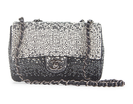 Chanel Limited Edition Seed Pearl Mini Flap Bag