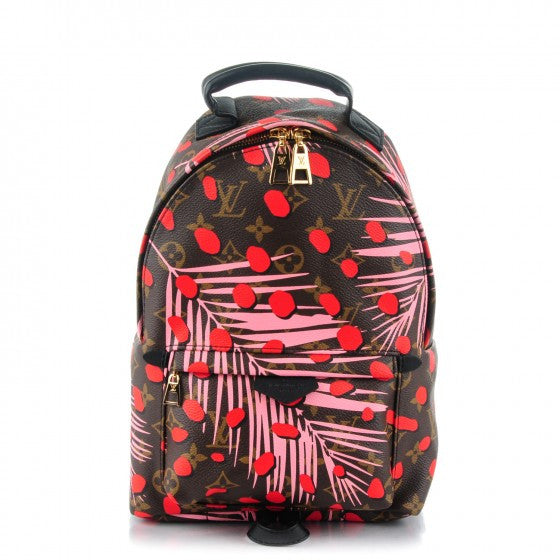 ... Louis Vuitton Palm Springs Pink Poppy Jungle Dots Backpack PM ... c45f89f492