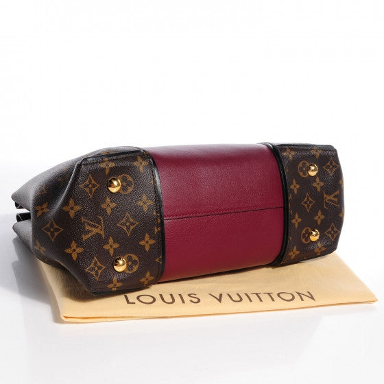 Louis Vuitton Monogram Prunille Cuir Orfevre W PM Top Handle Bag