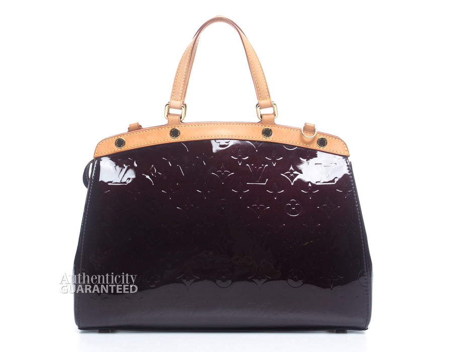 Louis Vuitton Amarante Vernis Brea MM Bag