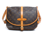 Louis Vuitton Monogram Canvas Saumur 30 Bag