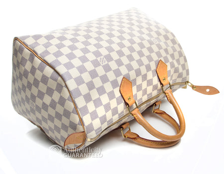 Louis Vuitton Damier Azur Speedy 35 Bag