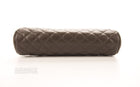 Chanel Chocolate Caviar Timeless Clutch