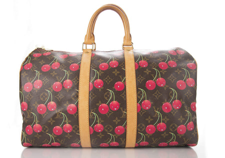 Louis Vuitton Monogram Canvas Cerises Keepall 45 Bag