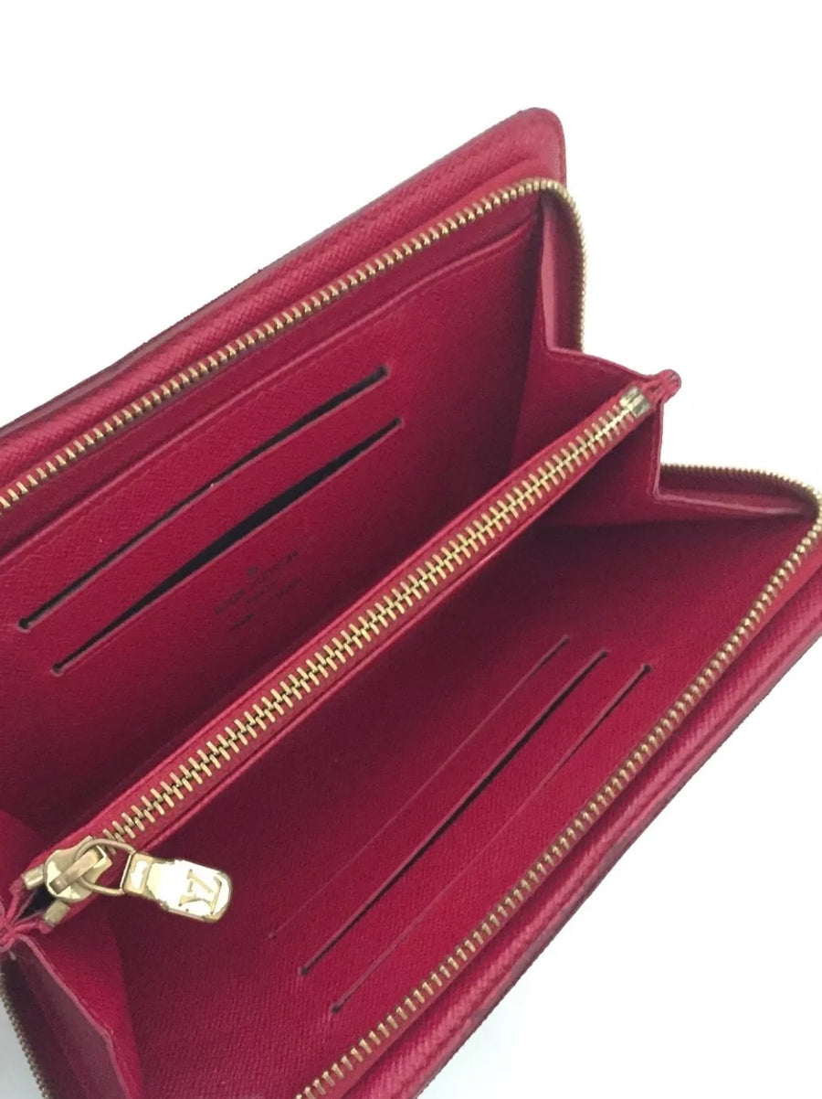 Louis Vuitton Ltd Edition Cherries / Monogram Zippy Wallet