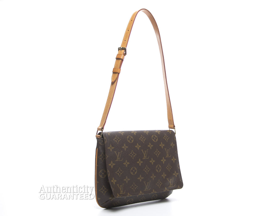 Louis Vuitton Monogram Canvas Musette Tango Short Strap Bag