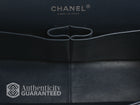 Chanel Black Patent Maxi Double Flap Bag