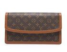 Louis Vuitton Monogram Canvas Dame Clutch