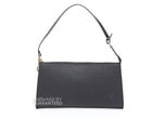 Louis Vuitton Black Epi Pochette Accessories Bag