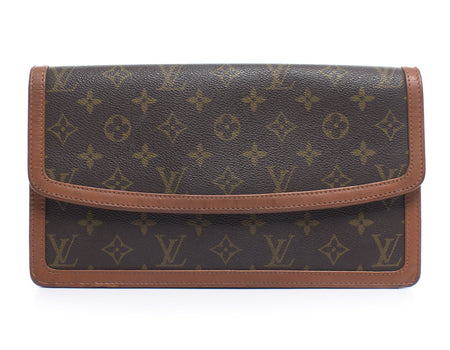 Louis Vuitton Monogram Canvas Dame GM Clutch