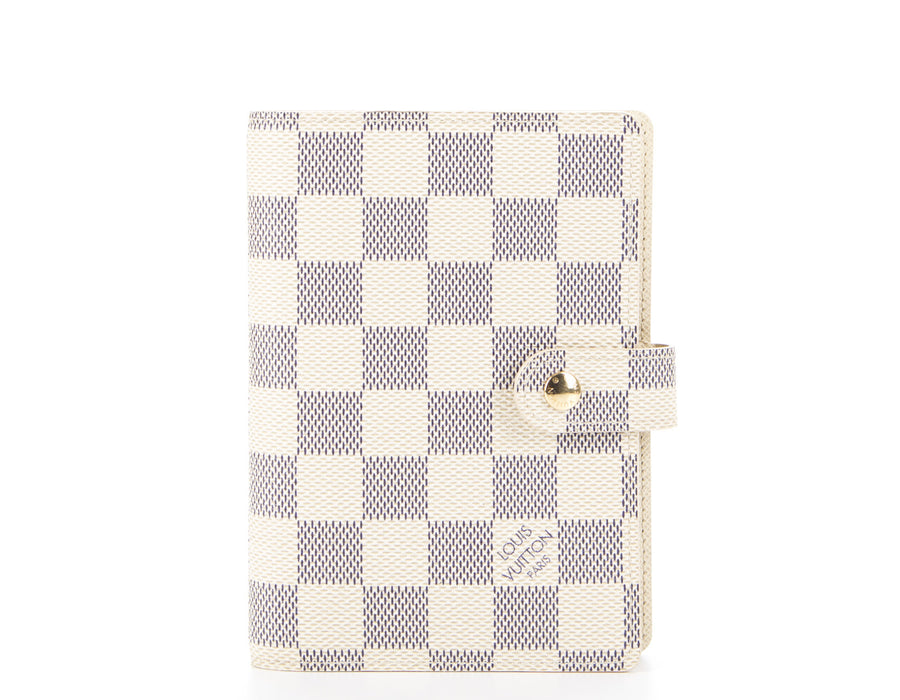 Louis Vuitton Damier Azur Agenda PM