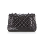 Chanel Black Caviar Jumbo Single Flap Bag