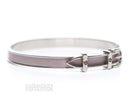 Hermes Lilac Leather Belt 65 Bracelet